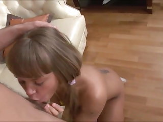Russian Teenage Anal - Nesti Gets a Facial