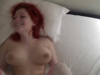Swedish Redhead Teen gets fucked hard