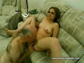 Old Man Dave Fucks A 18 Yr Old Slut