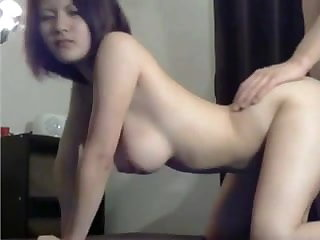 Teen chick prepared for hard rear end sex
